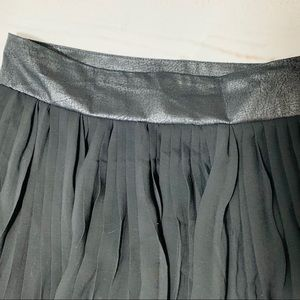 BCBGeneration Skirts - BCBGeneration NWT Black Accordion Pleated Skirt